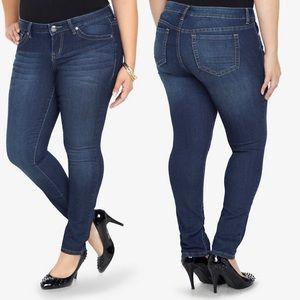 TORRID Skinny Jean - Medium Wash (24Tall)